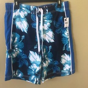 NWT OP board shorts manga floral E board men 32/34
